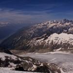 Rhonegletscher - unsere Abstiegsroute
