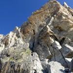 griffiger Granit - grosse Freude zum Klettern