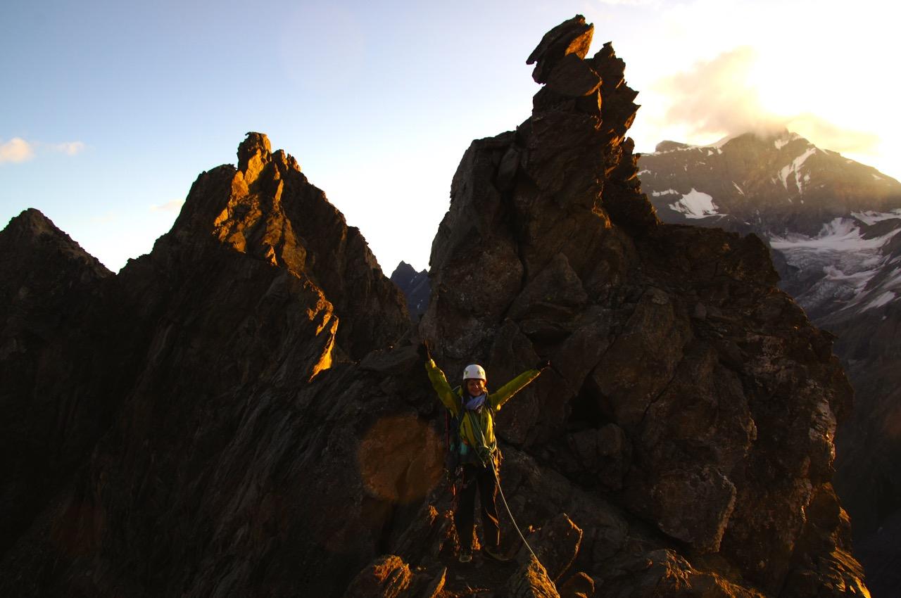 Auf dem Col de la Gouille - ein wahrhaftig schöner Moment