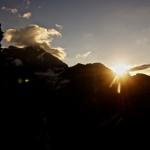 Sunrise over Grand Combin