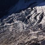 Ein grosser Gletscherabbruch des Glacier de Valsorey