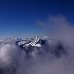 mäjestätisches Bietschhorn mit seinen 3934 Metern!