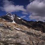 beim Gletscherausstieg vom Üsser Talgeltscher - hier scheint der Gletscher erst gerade verschwunden zu sein..