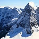 Ausblick auf den wunderbaren Westgrat zum Breithorn - Fernerkundung für den morgigen Tag!