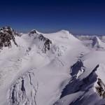 Abstiegsroute vom Liskamm 4527m - Balance total gefragt!