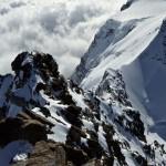 Klettergelände zur Dunantspitze 4632m