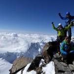 wahnsinnig hoch hinaus - DUFOURSPITZE 4534m - La pointe plus haute de la suisse!!