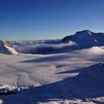 Gletscherhore und der Lenker Wilstrubel thronen über der Plaine morte..