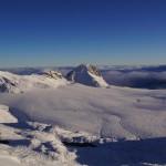 Plaine morte mit dem markanten Gletscherhore