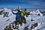 riesige Freude.. auf dem höchsten Berner Gipfel!