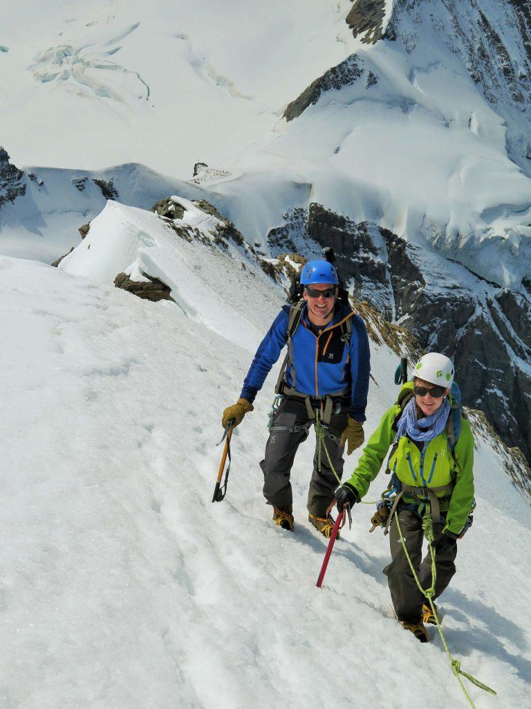 Firngrat zum Gipfel des Mönchs (Photo by Christoph)