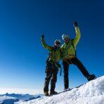 Gipfelfreude von Sarah & Christoph