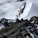 Schöne Kletterpartie