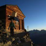 Solvayhütte - Notbiwak auf 4003m