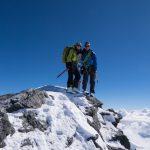 Happy Peaker - fast 2500m Abfahrt folgen - bis Saas Grund