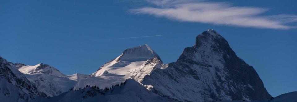 ungerwägs en ski im Richebachtal..