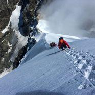 """Piz Bernina per la cresta bianca """"Biancograt"""" e traversata del Piz Palü"""